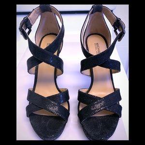 🆕 Michael Kors Black Sequined Heels 8